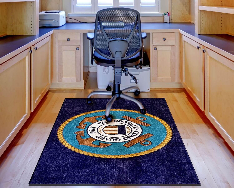 Buy U S Coast Guard Logo Rug Online Rug Rats