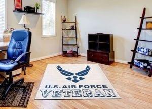 Air Force Logo Rugs