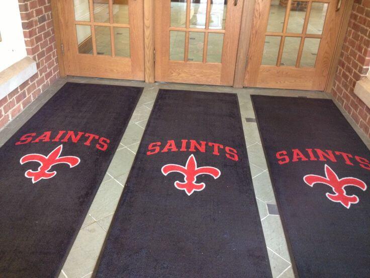 Saints School Entrance Mats