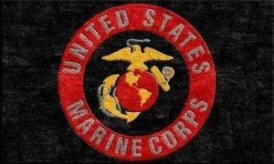 US Marine Corps Logo Rug