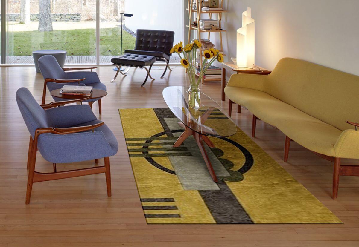 Wonderful Beautiful Mission Style And Frank Lloyd Wright Style Rugs