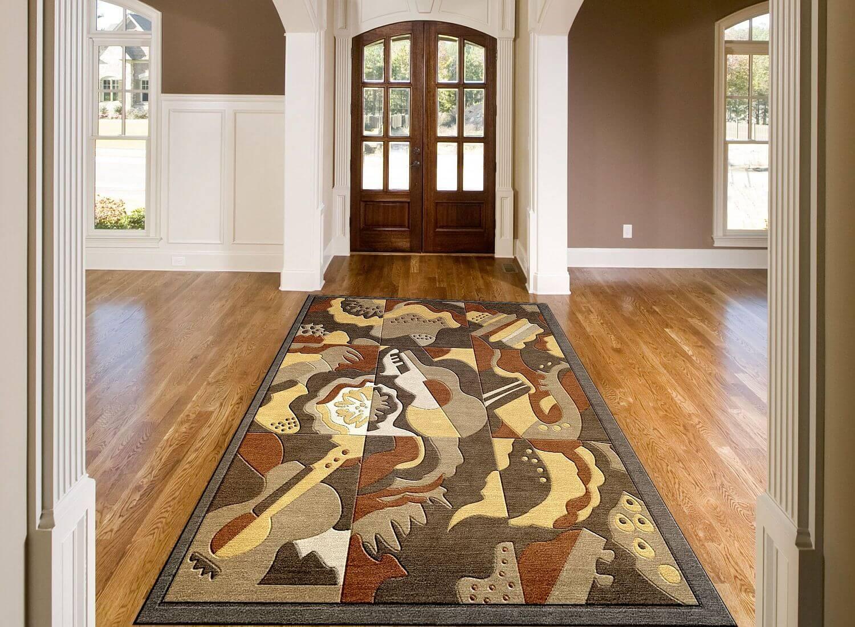 Art deco rug inspired by 1940s radio city music hall carpet art deco radio city music hall custom rug baanklon Gallery